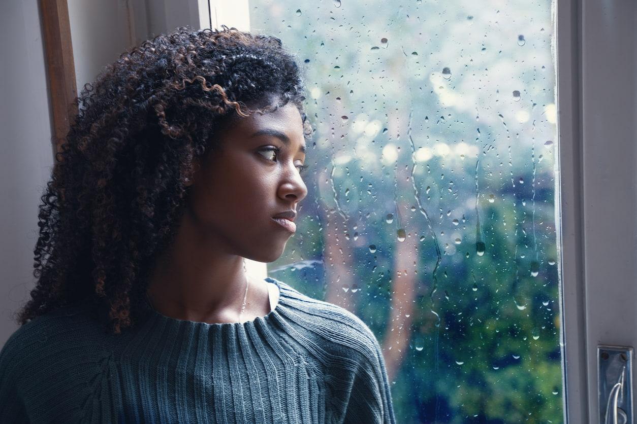 depressed=African-american-woman