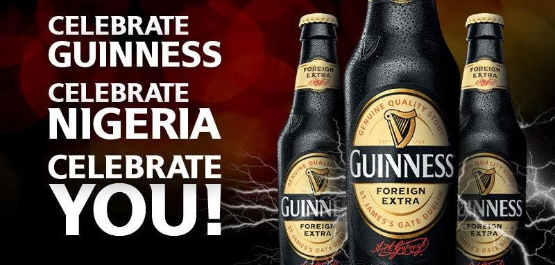 40 % OF ALL GUINNESS IS SOLD IN AFRICA
