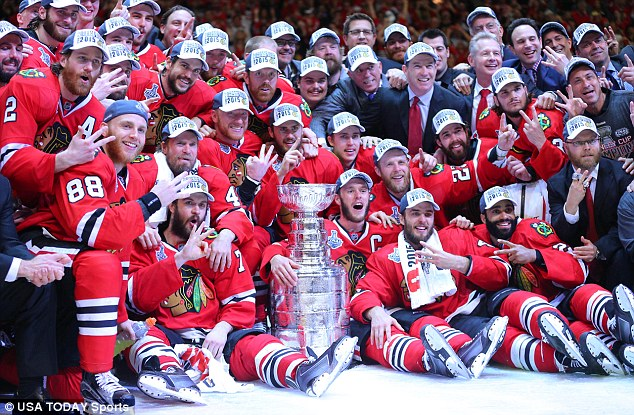 BLACKHAWKS DO IT AGAIN