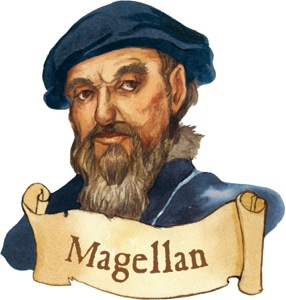 MAGELLAN LIKED HIS SHERRY