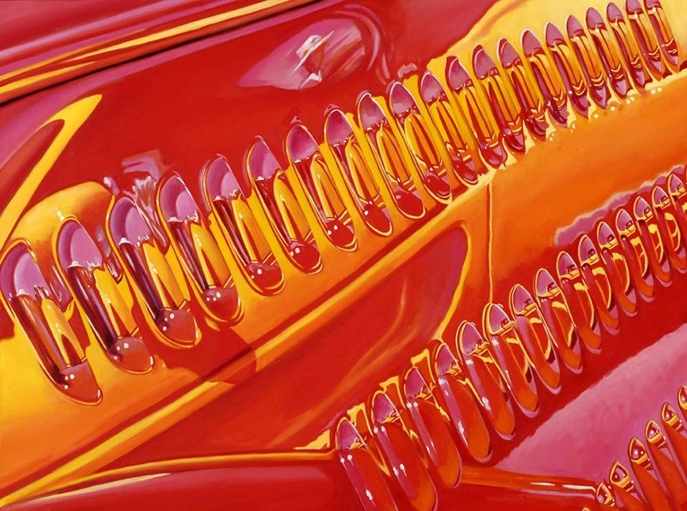 Ferrari Reflection at Laguna Seca