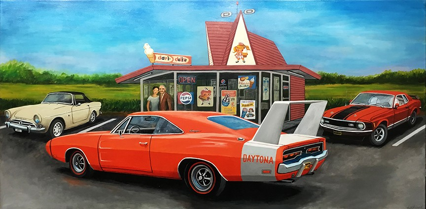 Diner Car Meet
