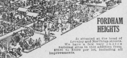 Slabtown Fun Fact #27: Where is Fordham Heights?