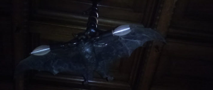 Fun Fact #37 Is that bat light really historic or is it from the Spirit Store?