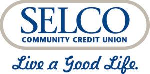 "SELCO Community Credit Union Log0 ""Live a good life"""