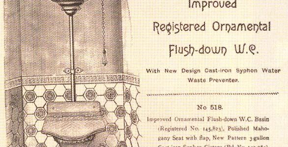 Fun Fact #61 How old is the oldest original functioning flushing toilet in Slabtown?