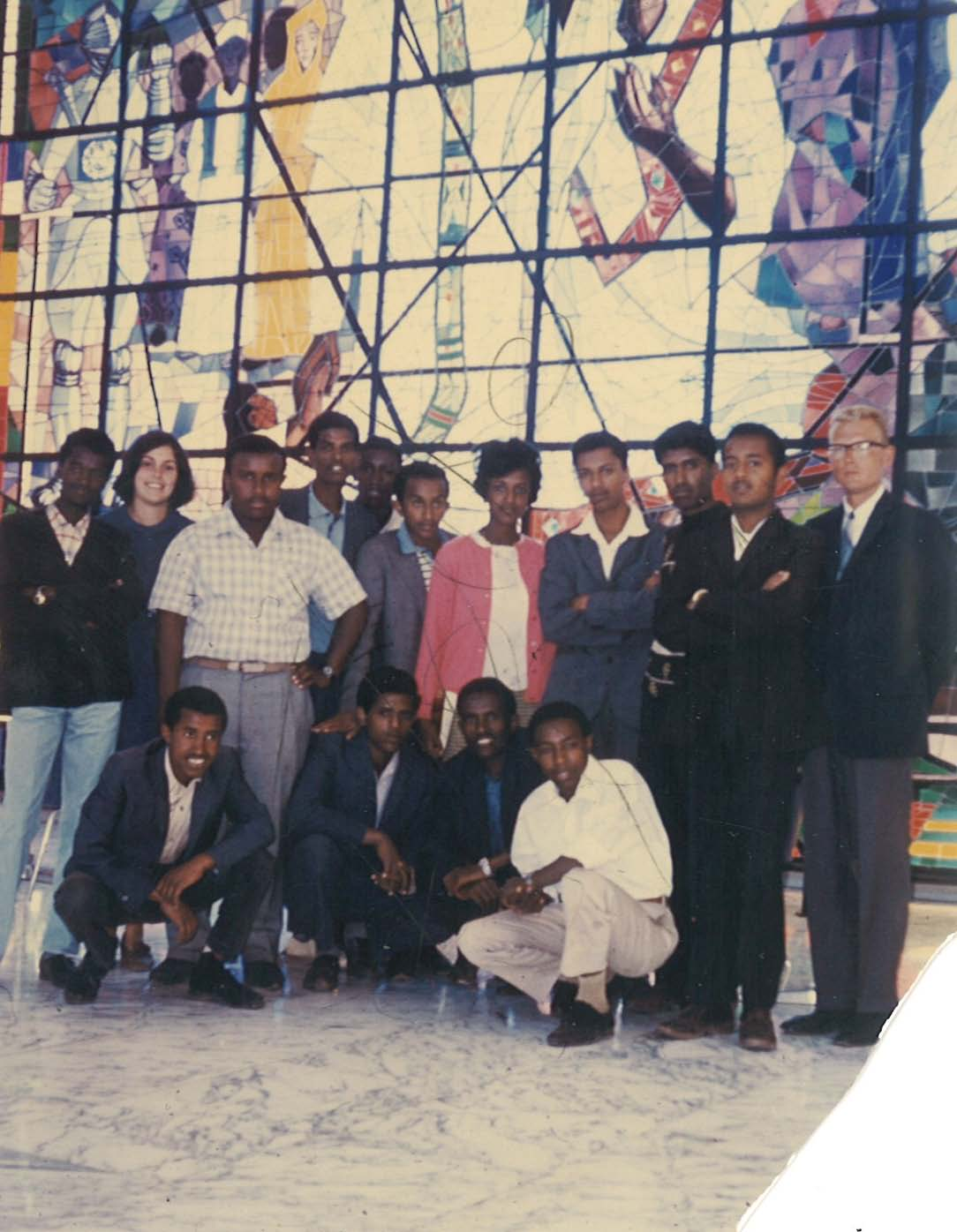 Class of 1968. Visit to Africa Hall