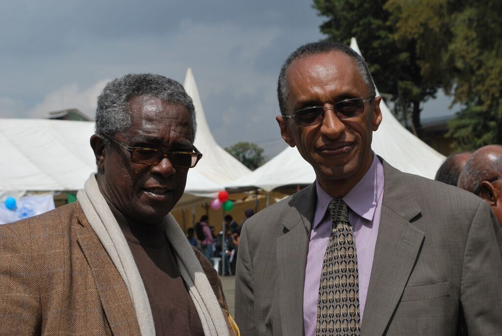 Lulsegd Retta and Bisrat Aklilu during TMS 90th Anniversary _1