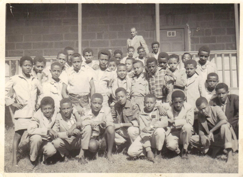 TMSians - 6th Grade (6-A) 1953 (Eth.)Contributor: Tariku Belay, '68