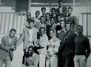 Students form Class of 1966.