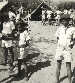 TMS Boy Scouts at Lake Langano