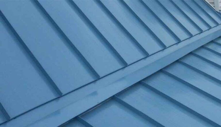 metal roofing installation