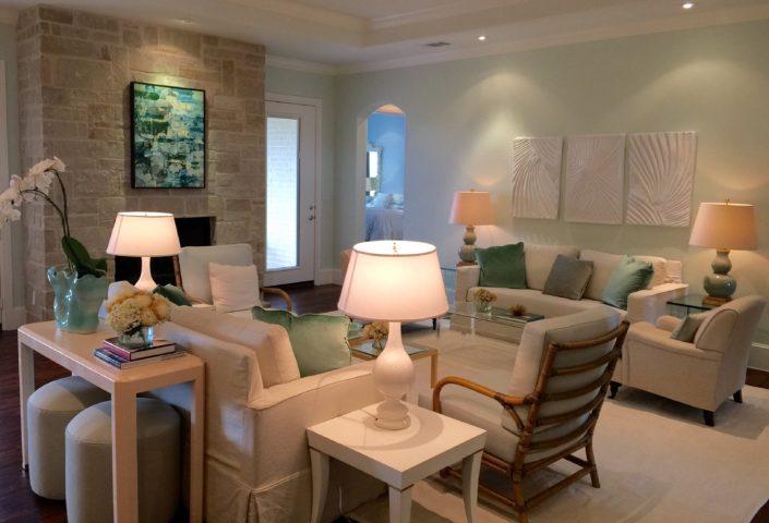 custom home builders | d'Lee Properties | Photo of Living Room
