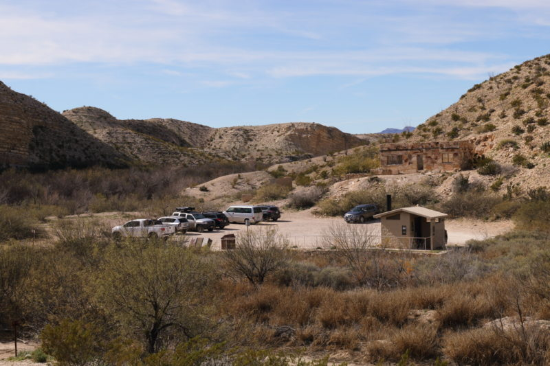 Big Bend National Park - Trailhead for the Hot Springs District