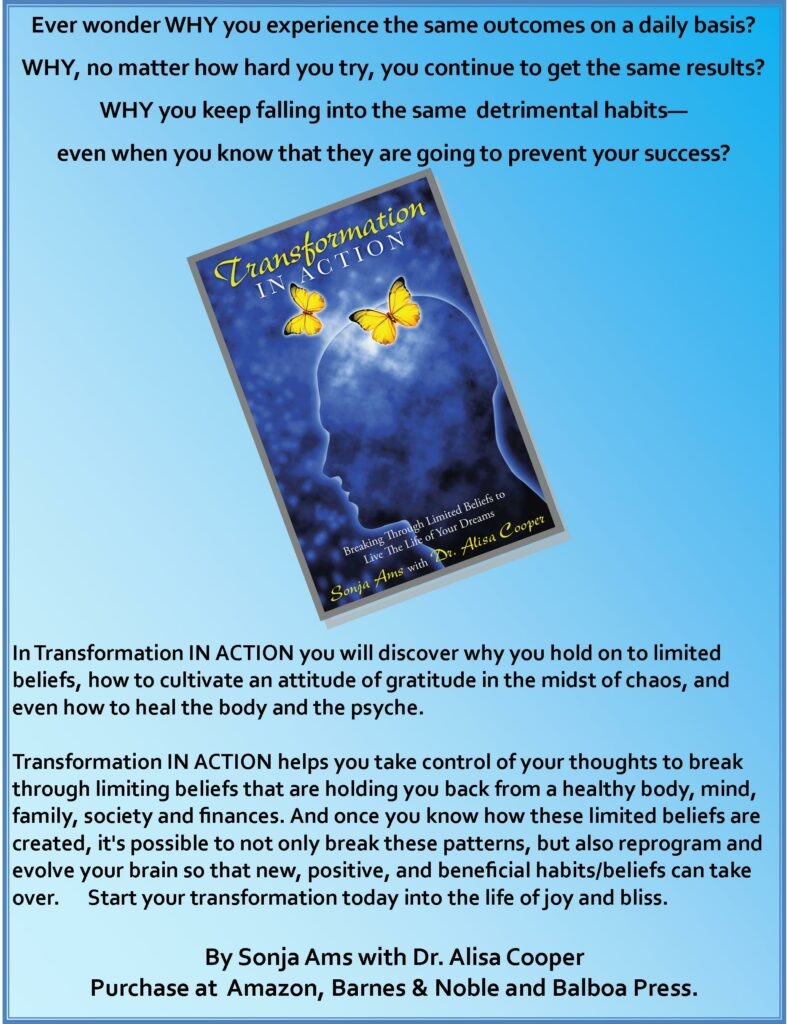 Transformation in Action featured in Jack Canfield's magazine.