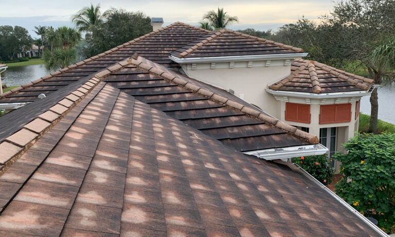 Mains Co Residential Roof Before