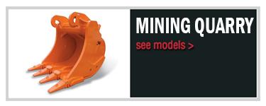 Mining & quarry bucket