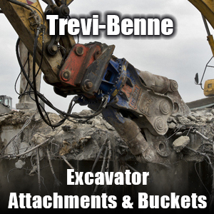 Trevi-Benne Excavator Attachments & Buckets