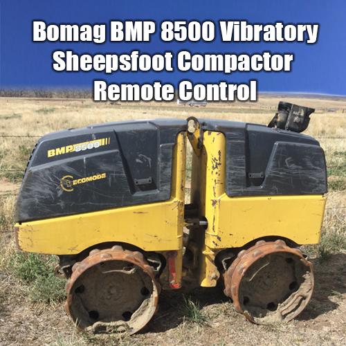 Bomag Vibratory Compactor - rental