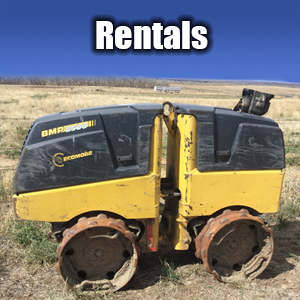 Excavator Equipment Rental - Colorado Springs