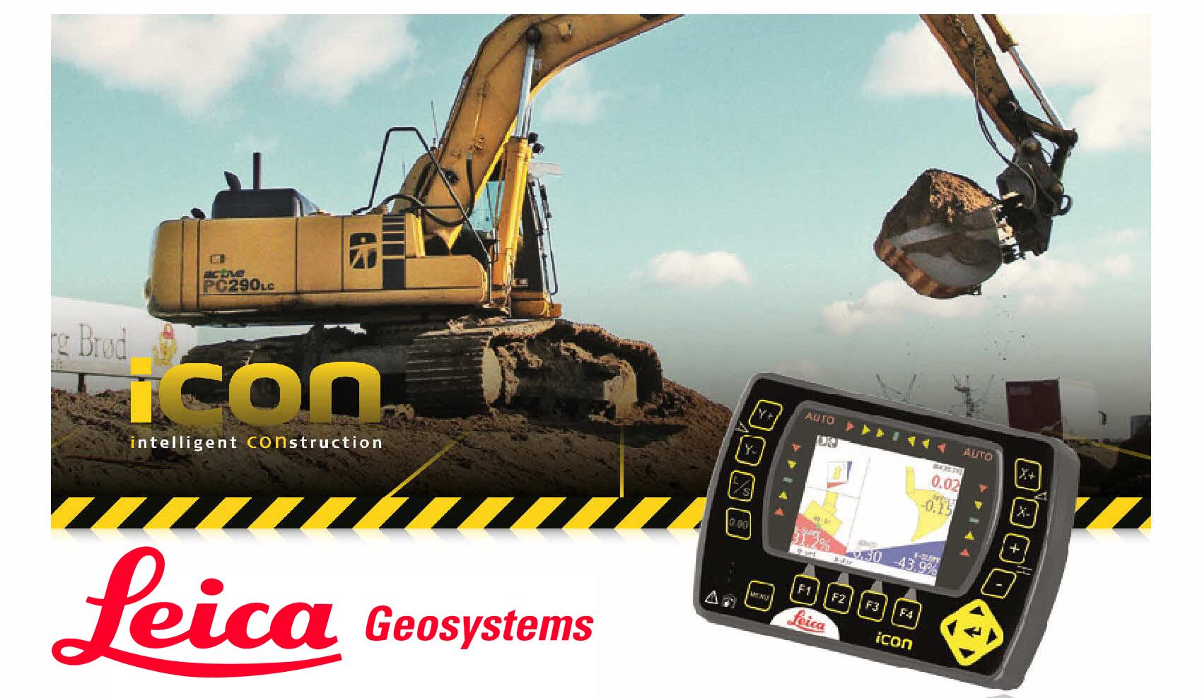 LEICA Icon IXE2 EXCAVATOR CONTROLLER