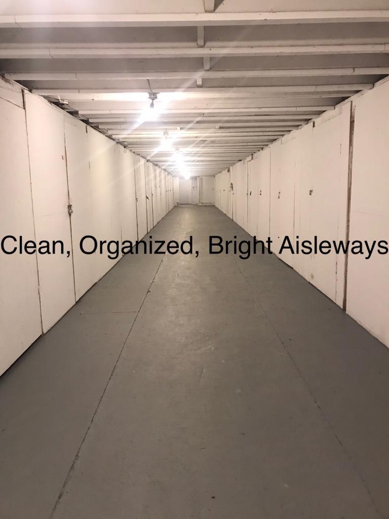 Clean, Organised, Bright Aisleways
