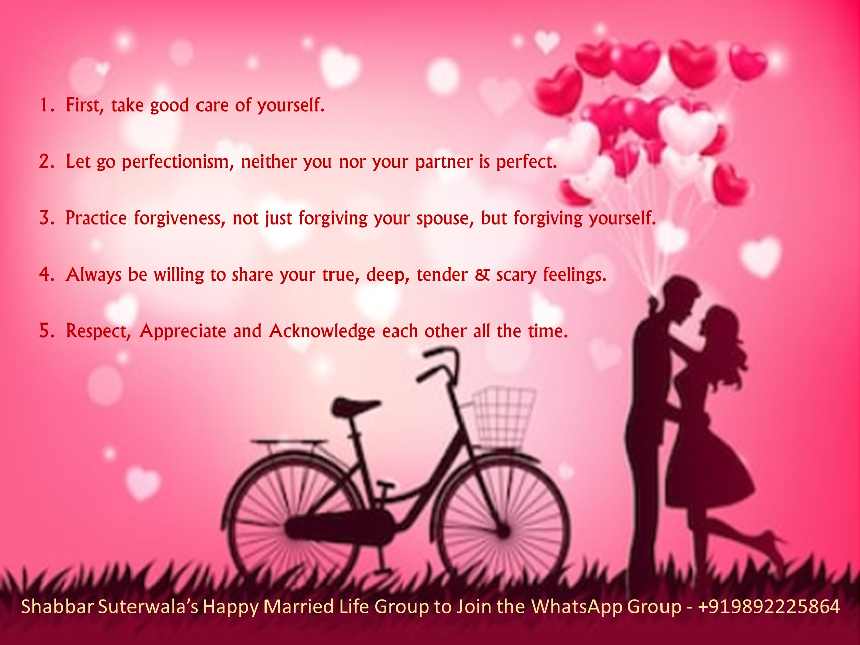 5 Tips for Happy Married Life
