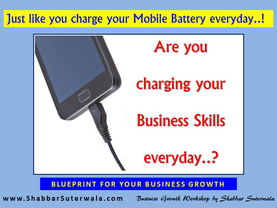 Charging your Business Skills Everyday