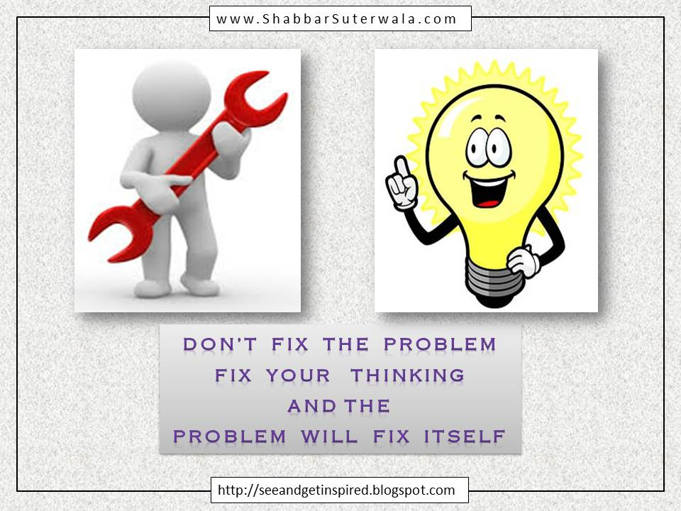 Fix your Thinking