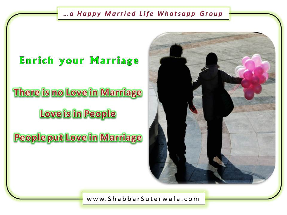 Love in Marriage