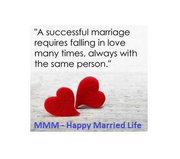 MMM - Happy Married Life LOGO