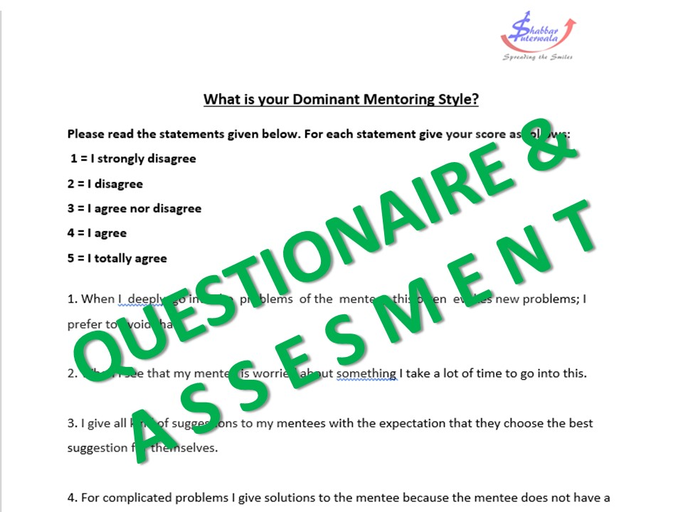 soft skills questionaire and attachments
