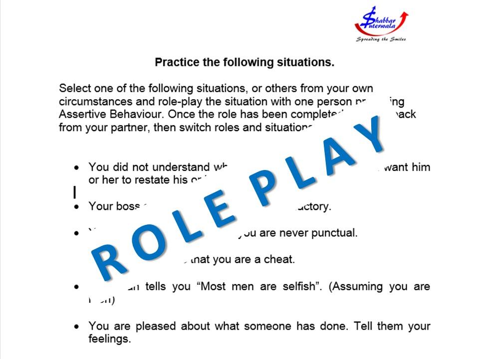 soft skills role play
