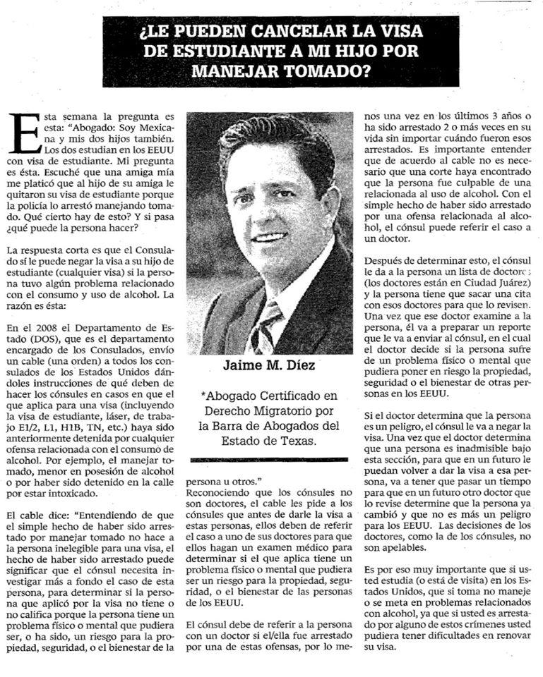 El Bravo Article 4