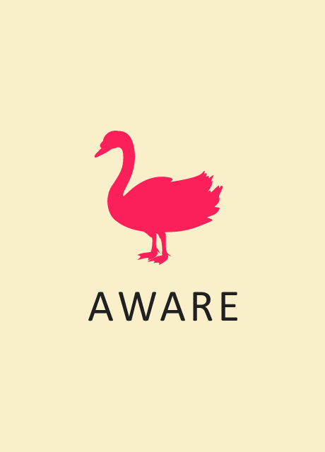 Aware - Stamp - V - LBG