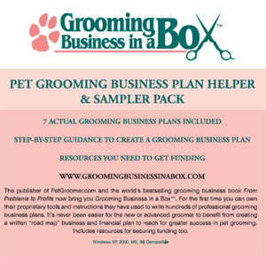 grooming business in a box cdrom cover 300