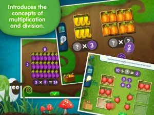Multiply and Divide with Lumio Farm Factor App
