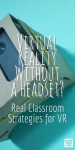 Virtual Reality in Education