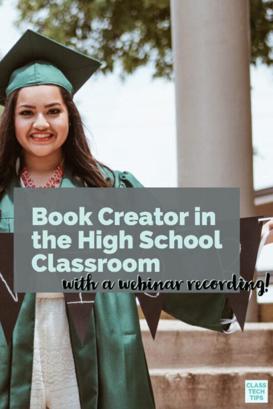 Book Creator in the High School Classroom 3