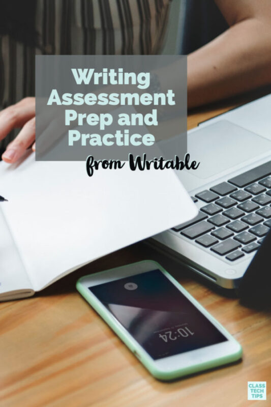 Writable provides a writing practice and writing assessment platform for educators to help infuse formative assessment into writing instruction.