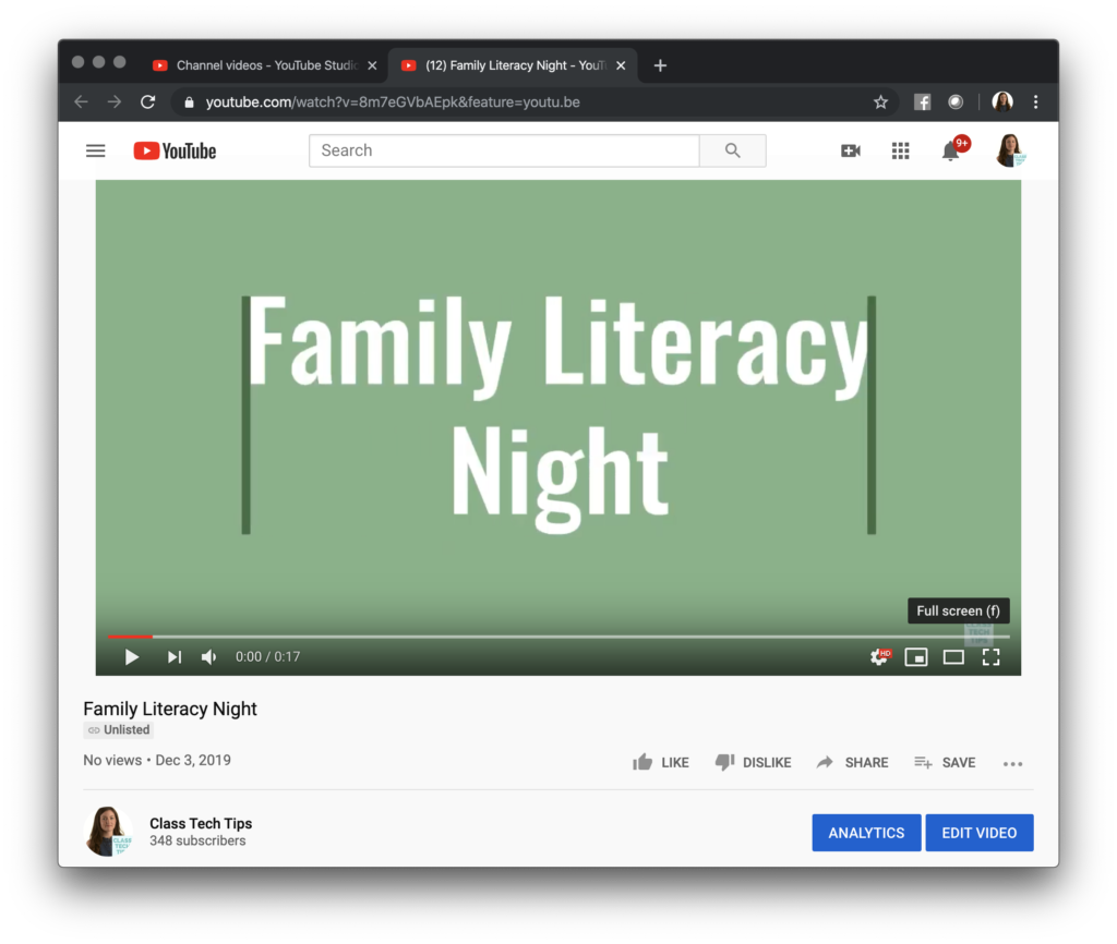 Learn how to share Spark Videos on YouTube this school year by following this quick step-by-step guide for making the most of two favorite tools.