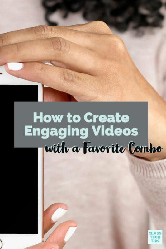 Learn how to create engaging videos with your students this year. I share a favorite combination of two creation tools to inject creativity into your class!