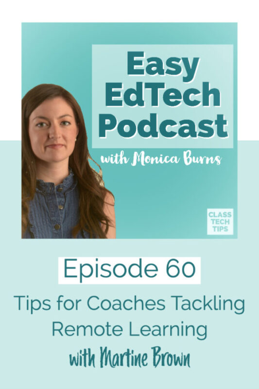 In this episode, you'll hear from a coach who works with coaches. Martine Brown shares tips for coaches you can try out right away.
