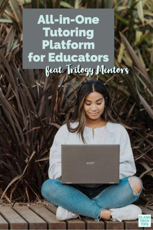 A tutoring platform for educators