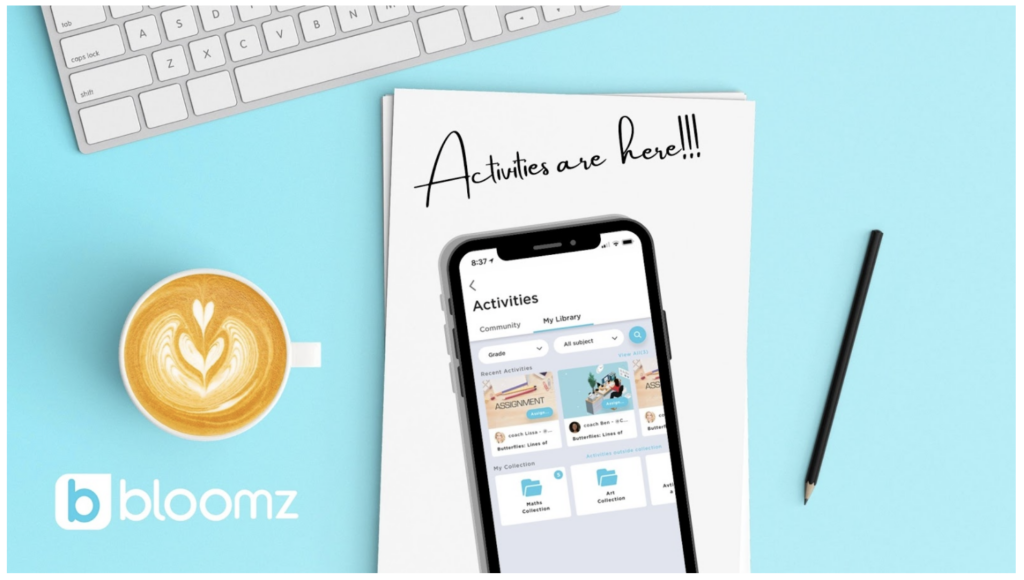 Learn how to create activities and assignments for students using the new features in Bloomz during in-person and remote learning.