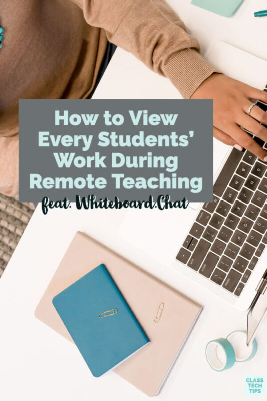 Learn how to use a virtual whiteboard when remote teaching.