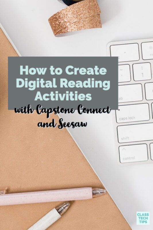 If you want to create digital reading activities this year, their resources are ones you can share quickly and easily with students.