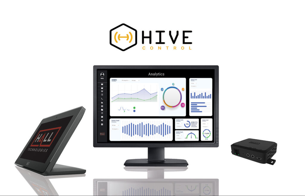HIVE Control is a cloud-based AV control platform for schools and districts. It is a scalable, affordable, easy-to-manage AV solution for K-12.