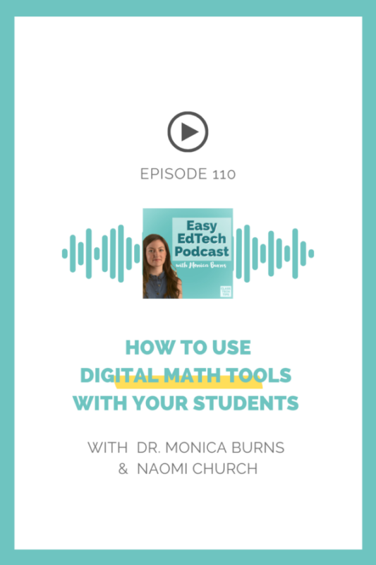 Learn how to give students multiple ways to learn and share with digital math tools and hear a Universal Design for Learning model.