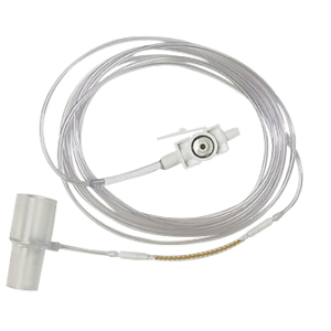 Adaptador de vias aéreas tipo H para monitorização sidestream de CO2 para pacientes intubados Philips M2772A (caixa com 10)